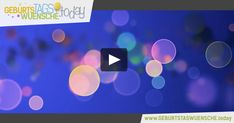 Farbenfrohes Geburtstagsvideo mit einem hinreißenden Geburtstagslied. Herzliche Glückwünsche zum Geburtstag!