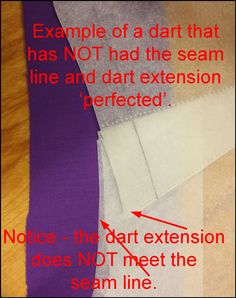 Sure-Fit Designs™ Blog: Darts and Side Seams: - Perfecting the Dart