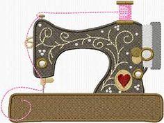 Resultado de imagen de sewing themed appliques