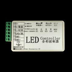 SPI RGB LED Controller for WS2801 ( Pixel controller )