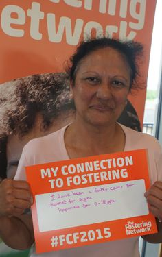 Mridula, fostering with Barnet for two years #FCF2015