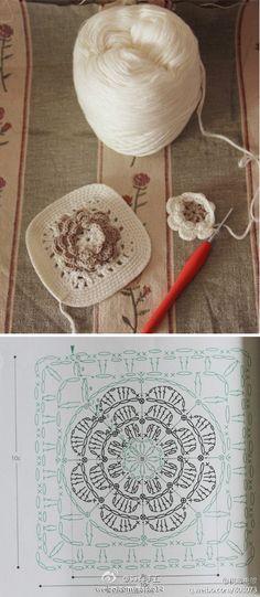 Crochet Granny Flower
