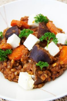 """Trigo Guisado. This """"guisado"""" or stew of """"trigo"""" or wheat berries will warm your heart and soul and satisfy every bone in your body. #vegetarian #recipe #wheatberries"""