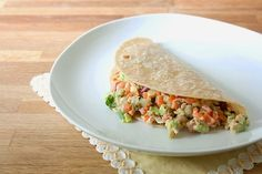 (via the vegan chickpea: Loaded Veggie Chickpea Wrap)   #healthy #vegetarian #vegan #recipes Find more healthy recipes @ http://standouthealth.com