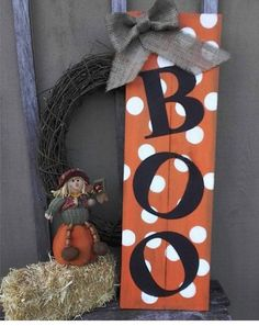 Items similar to Halloween Boo Wood Sign Porch Decor x on Etsy Items similar to Halloween Boo Wood Sign Porch Decor x on Etsy,Fall projects Welcome guests to your home. Halloween Wood Crafts, Rustic Halloween, Fete Halloween, Halloween Boo, Holidays Halloween, Holiday Crafts, Halloween Pallet Signs, Wooden Halloween Decorations, Fall Pallet Signs