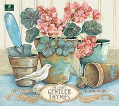 Gentler Thymes Jo Moulton 2014 Legacy Calendar from Sarah J Home Decor