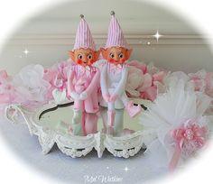 Vintage Pink Elves :)