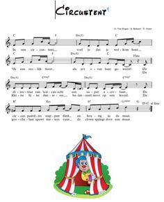 Muziek Lied aanbrengen: 'circustent' Muzikaal moment met grafische notatie snelle en trage muziek (uit cirque du soleil) ...