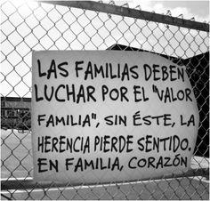 Familia, valor de siempre