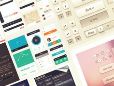 Download 10 Free UI Kits from Dribbble