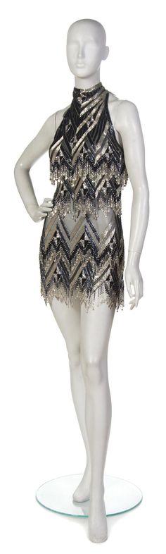 I not so secretly wish I could wear something like this. * Bob Mackie Cocktail Dress