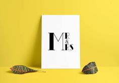 MR and MRS Instant download printable poster, black & white typography wall art posters, Home decor, Wall decor, Digital art, bedroom decor http://etsy.me/2hUlnpB #art #print #digital #mrandmrs #loveposter #instantdownload #printableposter #printableart #graphicdesigns #etsy