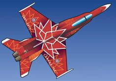 via AirshowStuff - The decoration of the Solo Canadian top view. Aviation News, Blue Angels, Paint Schemes, Air Show, Hornet, Jets, Air Force, Aircraft, Photos