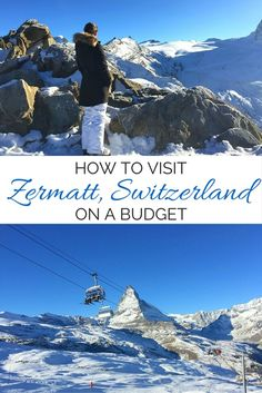 Check out these tips for visiting Zermatt, Switzerland on a budget, saving on everything from food to accommodation.