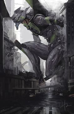 Evangelion - Unit 01 join us http://pinterest.com/koztar/