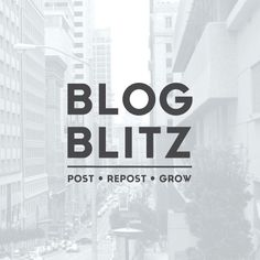 BLOG BLITZ: Share and Grow! Learn how to increase your blog traffic and support handmade at the same time.