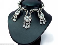 Carats and canines: The collar is the most expensive in the world, and costs an astounding $3.2million