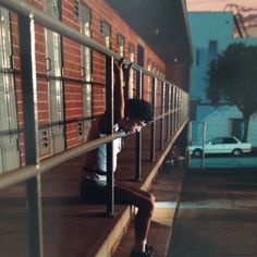 Amazing work by photographer Philip-Lorca diCorcia 'Chris, 28 years old, Los Angeles, California $30 ' 1990-92 at The Hepworth Wakefield