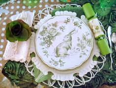 Lovely Easter place setting!!