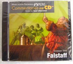 Falstaff Giuseppe Verdi Washington National Opera Commentaries on CD NEW