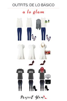 Tus prendas básicas dejan de ser básicas cuando le impregnas estilo y personalidad. ¿Tus aliados? ¡los accesorios! Aquí te enseñamos más opciones. Haz clic en la imagen.  #Básicos #Imagen #Outfit #Accesorios Cosmo Girl, Chic, My Style, Blog, Womens Fashion, Clothes, Shallow, Dresses, Instagram