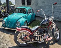 Geometric Art Tattoo, Motorcycle Events, Ape Hangers, Love Bugs, Roof Rack, Chopper, Harley Davidson, Vw, Wheels