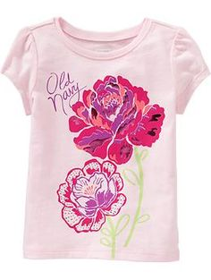 Graphic Crew-Neck Tees for Baby