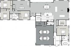 Motueka signature homes Sims House Plans, Dream House Plans, House Floor Plans, Cubes, Building Design, Building A House, Dormer Bungalow, 5 Bedroom House Plans, Modern Farmhouse Plans