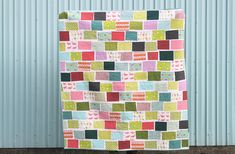 Postcards in the Park, quilt by Film in the Fridge #quilts
