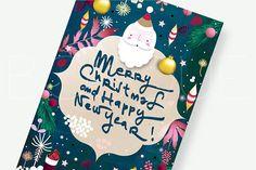 Printable Christmas Card. Christmas Cards. Happy New Year