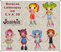 JOAPHIA ARTES E CIA: LALALOOPSY EM E.V.A