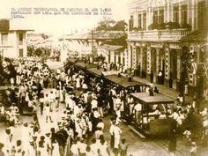 El primer ferrocarril de Iquitos  1910