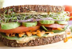 vegetarische lunch ideeen