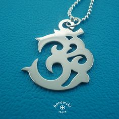 OM sacred symbol Pendant free shipping  stainless от BorowskiStore