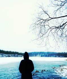 Winter gazing