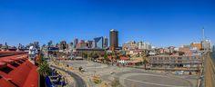 Johannesburg City Centre From South Johannesburg City, San Francisco Skyline, South Africa, New York Skyline, Public, Street View, Travel, Viajes, Trips