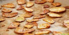 Knackige Chips aus Kartoffeln und Zucchini - viel gesünder als aus dem Laden