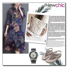 """Newchic #8"" by nermina-okanovic ❤ liked on Polyvore"