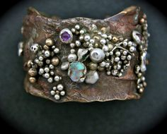 Mermaid Cuff | Fused Cuff || The Metal Arts Society of Southern California (MASSC) || Artist - OceanGirl