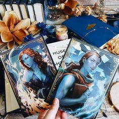 Size:5x7 inchesSet of 2 Double sided Sturdy Character Cards ofLazlo and SaraiBoth are double sided Photos by @infinitybooks Reading Art, Reading Room, Daughter Of Smoke And Bone, Glitter Photo, Lunar Chronicles, Fanart, Fantasy Books, Book Fandoms, Book Characters
