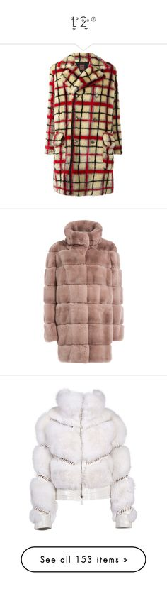 """""""ƒµ®"""" by chandlermitchell ❤ liked on Polyvore featuring outerwear, coats, jean paul gaultier coat, long sleeve coat, patterned coat, imitation fur coats, brown coat, coats & jackets, rose and funnel-neck coat"""