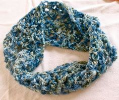 Sarahndipities ~ fortunate handmade finds: Things to Make: Stash-buster Crochet Scarf Pattern