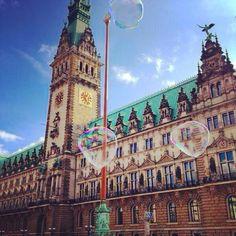 The city hall in Hamburg, Germany   www.kingdomsandparadise.com