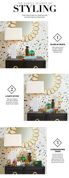 A Jonathan Adler guide to shelf styling.