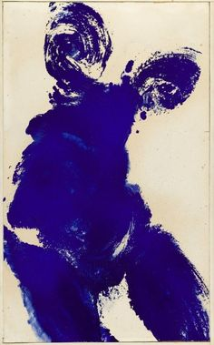 Yves Klein, Anthropometrie, oil on panel - Pictify - your social art network Nouveau Realisme, Jean Tinguely, Modern Art, Contemporary Art, Art Français, Art Moderne, Henri Matisse, Mark Rothko, French Artists