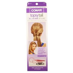 Conair Topsy Tail Kit *** Check out this great product.(This is an Amazon affiliate link and I receive a commission for the sales)