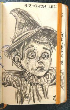 The Scarecrow d'après Jim Mckenzie