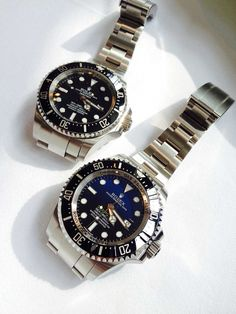 Rolex DeepSea D-Blue Dial and Black Dial