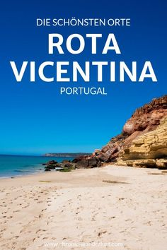 Entlang der Rota Vicentina in Portugal – Best Europe Destinations Europe Destinations, Amazing Destinations, Europa Camping, Europa Tour, Tulum Beach, Travel Through Europe, Algarve, Hidden Places, Reisen In Europa
