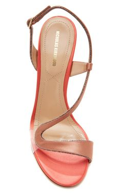 Satin and PVC Sandals by Nicholas Kirkwood - Moda Operandi